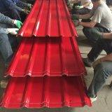창고를 위한 Prepainted 색깔에 의하여 주름을 잡는 최신 담궈진 직류 전기를 통한 강철판