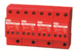 Alimentation AC System Three Phases Iimp 25ka Surge Protection Device de B+C Class