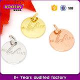 卸し売り安い三角形の合金の宝石類によって刻まれる名札の魅力
