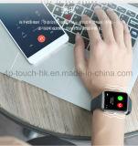 カメラQ7が付いているタッチ画面のスポーツの腕時計のBluetoothのスマートな腕時計