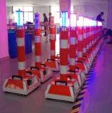 100W do tráfego rodoviário reflexivo Coluna Delineator flexível com luz estroboscópica e um altifalante
