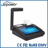Androide seguro y conveniente de 7 pulgadas de la posición de la máquina con la impresora térmica directa 58m m