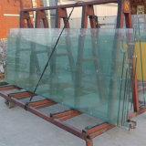 La Chine livre Low-Iron ultra large 15mm stratifiés Le verre trempé