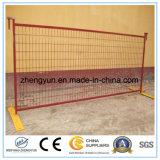 panneau provisoire de frontière de sécurité de 8FT x de 10FT Canada, chantier de construction