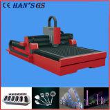 Tagliatrice del laser della fibra 3kw del metallo per l'alluminio dell'acciaio inossidabile