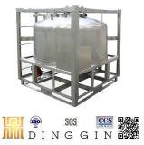 Ss304 IBC conteneurs en acier avec certificat de l'ONU