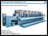 De roterende & Intermitterende Machine van de Druk van het Etiket (JJ320---5colors)