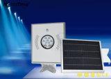 Tudo-em-um organismo de controlo de tempo LED integrado do sensor de lâmpada de Rua Solar