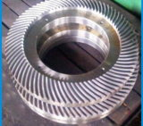 Engranaje cónico helicoidal de alta precisión para caja de velocidades fabricado en China