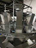 Café sucre granule de copeaux de chocolat de sel les écrous de grain de riz de la charque Dates de pop-corn chips Haricots Machine d'emballage des aliments de collation à la verticale