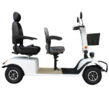 Las cuatro ruedas asiento doble motor scooter de 800W en China