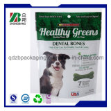 Plastikhaustier-Hundeverpacken- der Lebensmittelbeutel mit Reißverschluss-Verschluss
