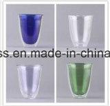 Kop van het Water van het Glas van Borosilicate de Met de hand gemaakte