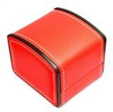 Fabricante de alta calidad de suministro de cuero de PU Arc-Shaped embalaje resistente al agua Caja de regalo, de alta calidad Ver cuadro para mostrar, ver la caja de Almacenamiento, Embalaje de regalo