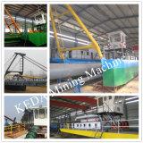 Configuração de alta a dragagem de lama navio draga de sucção do Cortador