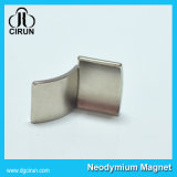 Magnete permanente dell'arco di NdFeB della terra rara di applicazione del motore
