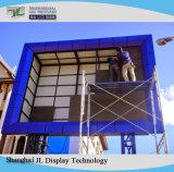 P10 visualizzazione fissa esterna dell'installazione del grande schermo di colore completo LED