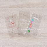 Schil van de Sticker van het Etiket van Tranparent van de Kleurendruk de Duidelijke van de Sticker van Removeable van het Etiket