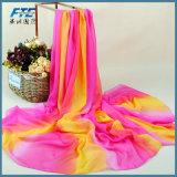 Шелковые шарфы Бич шарфом скрыть изображения женщин и шарфы женщин Без шарфа