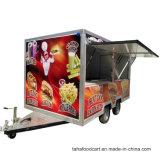 La nourriture des camions de glisser de la remorque Remorque alimentaire de cuisine
