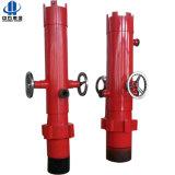 Pista de cementación del cemento del mecanismo impulsor de la tapa de los accesorios del campo petrolífero
