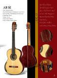 Hand-Made guitarra clássica do Rosewood de todo o Madagascar contínuo