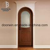 좋은 외관 브라운 색깔을%s 가진 실내 목제 문 디자인 오크재 위원회