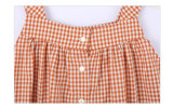 L'estate 100% del cotone scherza i vestiti per le ragazze