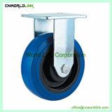 Trolley parte sólida de rodadura industrial de la rueda rueda elástica