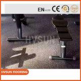 En la China de caucho granulado mosaico de gran utilidad para Gimnasio