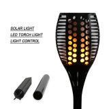 Großhandelssolargarten-Licht 96LEDs imprägniern im Freienbeleuchtung-Solarfackel-Lampe