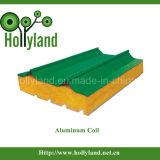 Бумага с покрытием и тисненые алюминиевый корпус катушки (ALC1105)