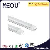 Ce/RoHS 2700K-6500k TUBO LED de alta potencia de luz Factory
