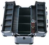 Fabrik-niedrigster Aluminiumwerkzeugkasten mit Schaumgummi