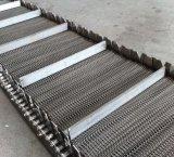 Venta caliente equilibrado de la correa de malla de acero inoxidable para el equipo de tratamiento de calor