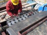 Correa de goma del transportador para la producción del cemento