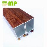 Quadratisches hohles Aluminiumgefäß