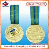 Sports faits sur commande de médaille de récompense de médaille de qualité pour les cadeaux commémoratifs