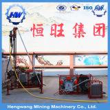 Piattaforma di produzione portatile del foro di scoppio della montagna con il compressore d'aria