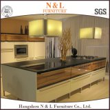 Stile stabilito di legno solido dell'armadio da cucina di disegno dell'hotel di N&L