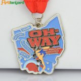 Пожалование сувенира Metals медаль для спортивного мероприятия