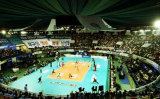Internationale waagerecht ausgerichtete Volleybal Sport Belüftung-Rollenbodenbelag-Oberfläche -8.0mm