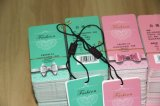 Casella impaccante di carta della calza di seta, contenitore di regalo della calza di seta, pacchetto di calza di seta