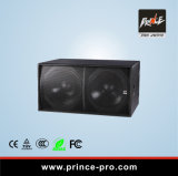 Der 18 Zoll-verdoppeln passiver Lautsprecher-Kasten für Stadium Subwoofer