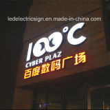 Outdoor Letters를 위한 잘 고정된 Backlit Office Wall Signs