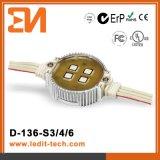 Illuminazione CE/UL/FCC/RoHS (D-136) della facciata LED di media