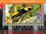 Alta Definição de cores P10 Grande visor LED