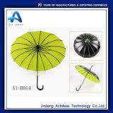 ال [بغدا] مظلة قوس طويل مقبض مظلة فنّ تصوير فوتوغرافيّ [16ك] اللون الأخضر