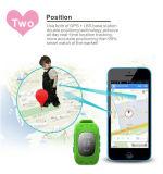 Дети GPS отслеживая вахту Bluetooth франтовской Sos монитора