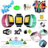 3G/WiFi Kids Safety Rastreador GPS assista com chamada de emergência SOS Y20